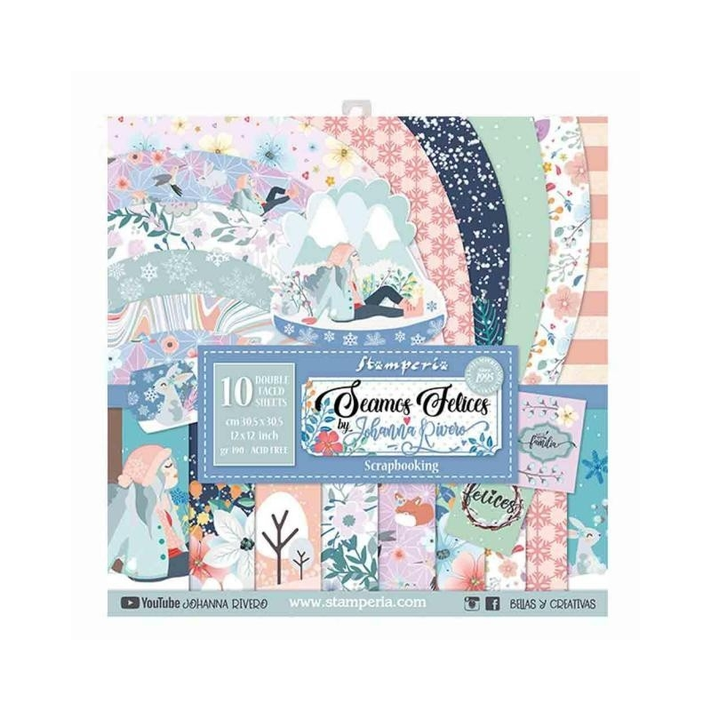 Seamos Felices 12 x 12 Paper Pack
