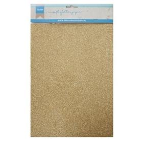 CA3143 - Soft Glitter Paper A5 - Gold