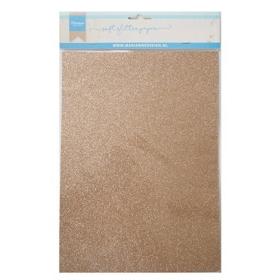 CA3145 - Soft Glitter Paper A5 - Bronze
