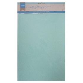 CA3147 - Soft Glitter Paper A5 - Mint