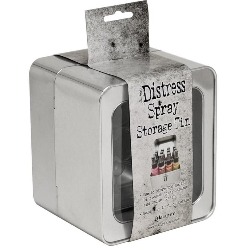Distress Oxide Spray Storage Tin