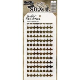Shifter Scallop Stencil