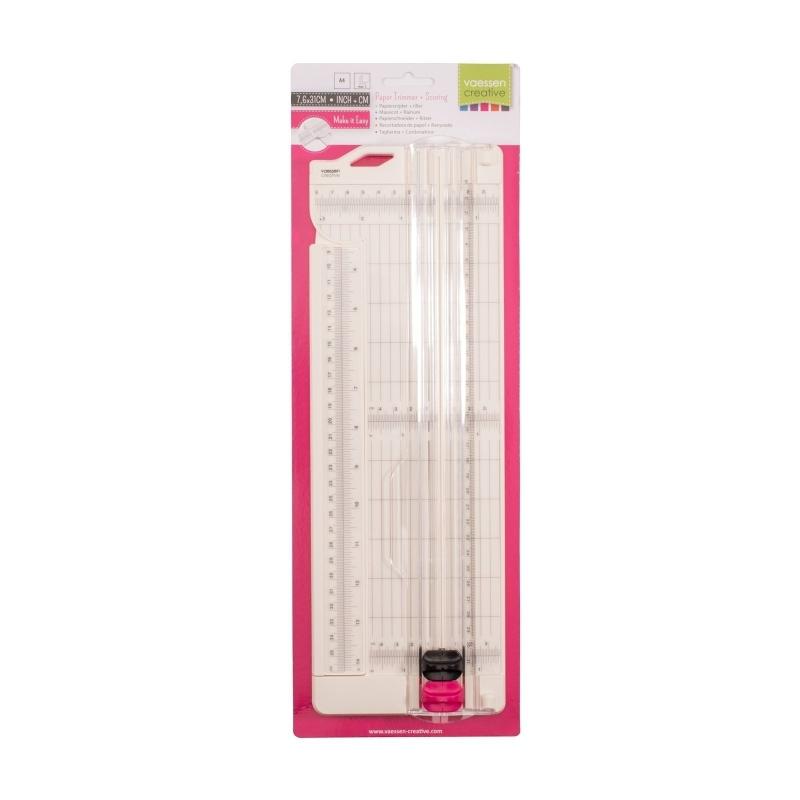 Papiersnijder + Riller 7,6x31cm