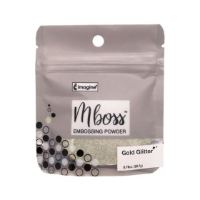 Mboss Embossing Powder Gold Glitter