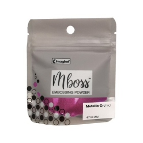 Mboss Embossing Powder Metallic Orchid