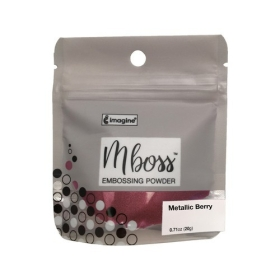 Mboss Embossing Powder Metallic Berry