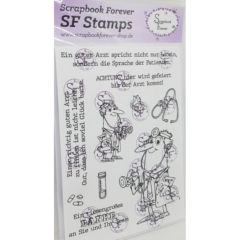 Dokter clearstamps