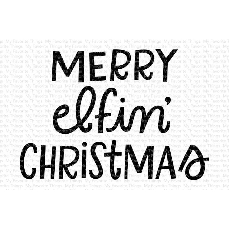 Merry Elfin' Christmas Clearstamps