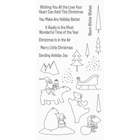 Merry Moments Clearstamps