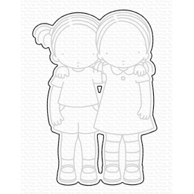 PI You're My Person Stamps And Dies Set