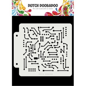 Dutch Mask Art Motherboard