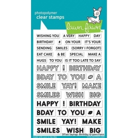 Offset Sayings: Birthday...
