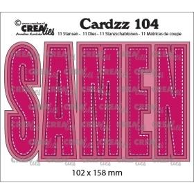 Cardzz No. 104, SAMEN