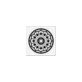Mandala 6 - Small Stencil