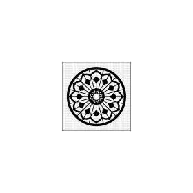Mandala 6 - Large Stencil