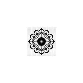 Mandala 4 - Large Stencil