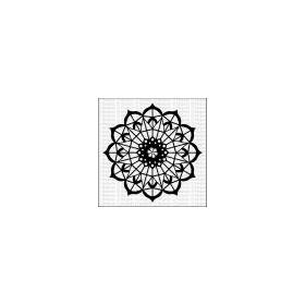 Mandala 3 - Large Stencil