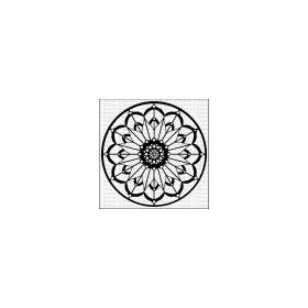 Mandala 11 - Large Stencil