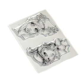 Earthy Girls Clear Stamps