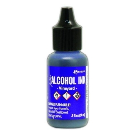 Vineyard (Alcohol Ink)