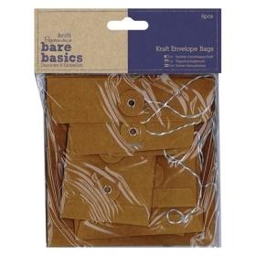 Kraft Envelope Bags (6pcs)...