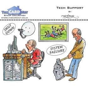 Tech Support Clearstamps