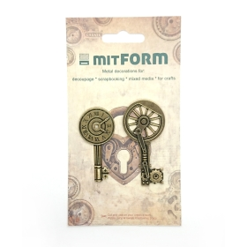 Mitform Keys 2 Metal...