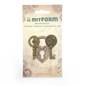 Mitform Keys 1 Metal...