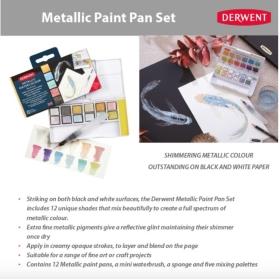 Derwent Paint Pan Set -...
