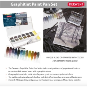 Derwent Paint Pan Set -...