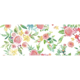 Rose Bouquet Wide Washi...