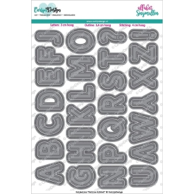 Snijmallen Outline Alfabet