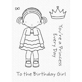 Birthday Girl Clearstamps