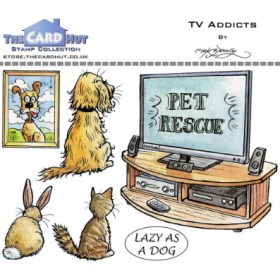 TV Addicts Clear Stamps