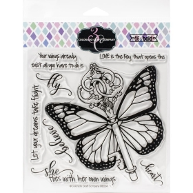 Her Own Wings Clearstamps