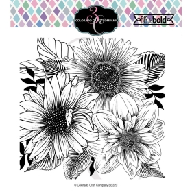 Daisy & Dahlia Clearstamp