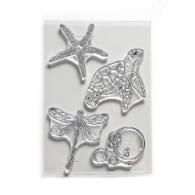 Water Creatures Clearstamp