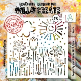 Aall & Create Stencil - 95