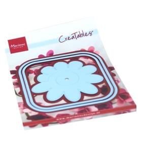 LR0673 - Square Box & Flower