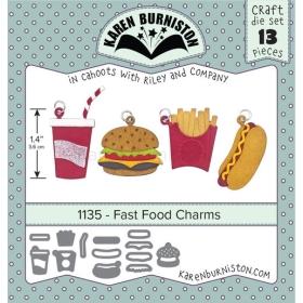 Mal 1135 - Fast Food Charms