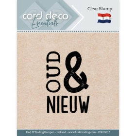 Clear Stamps - Oud & Nieuw