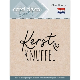 Clear Stamps - Kerst Knuffel