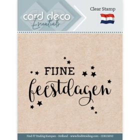 Clear Stamps - Fijne...