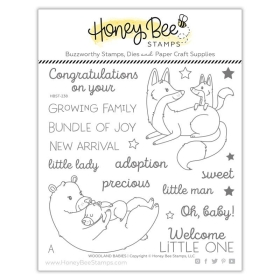 Woodland Babies 6x6 Stamp Set