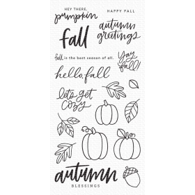 Autumn Blessings Clearstamps