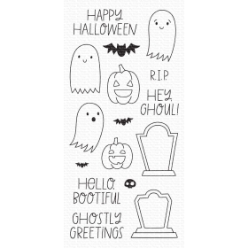 Ghostly Greetings Clearstamps