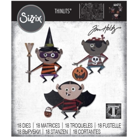 Sizzix Thinlits - Trick Or...