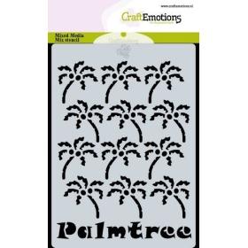 Mask Stencil Palmtree A6...