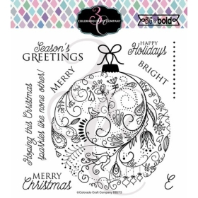 Holiday Ornament Clearstamps