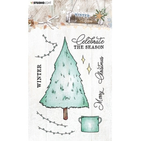 Winter Charm - Clearstamp 489